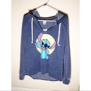 Lilo and Stitch hoodie sweatshirt NWT sz M Disney
